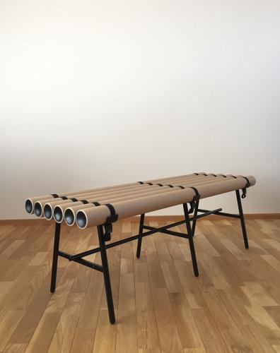Paper Tubes Bench S
