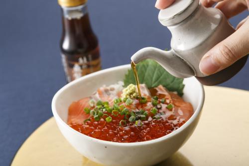 越後村上三面川 鮭の魚醤油(70ml)