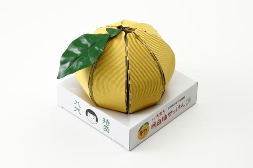 """八代育ち〜晩白柚せっけん""""ゆ""""(玉)"""
