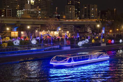 【大阪シティクルーズ推進協議会共同企画】 光の水都ルネサンスボート