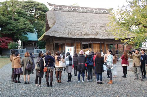 天津神社で恋愛成就!?