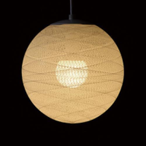 糸巻きシェードペンダントライト(四葉/30㎝)