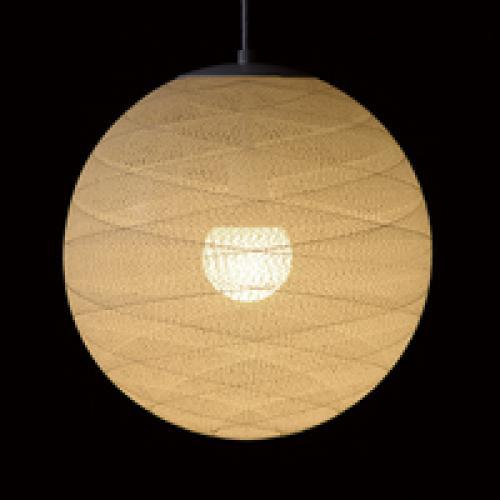 糸巻きシェードペンダントライト(四葉/39㎝)