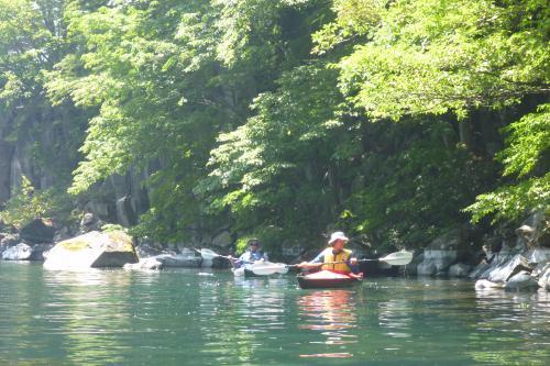 十和田湖でスタンダップパドルボード&カヤック