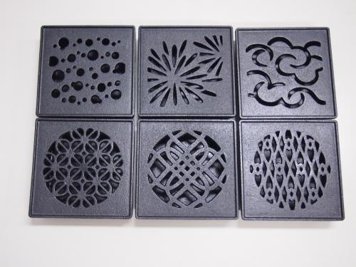 「花火」「朝顔」など6つのデザイン