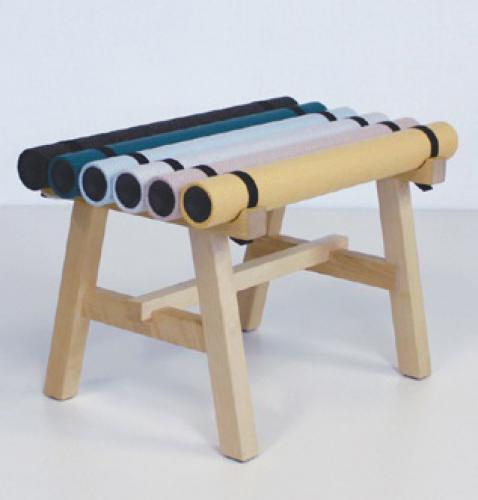 Paper Tubes Stool