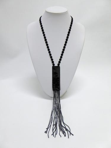 タイ ネックレス(黒)