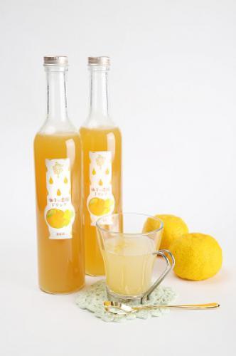 岡山果汁ものがたり はちみつ柚子ドリンク濃縮タイプ