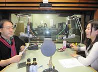北海道FMラジオAIR-G'で美幌豚醤油を紹介