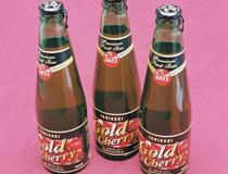 さくらんぼのフルーツビール「ゴールドチェリー」
