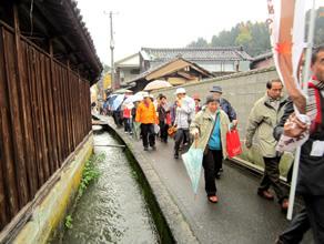 加茂に Come on! 歩いて・食べて・技を見て~手軽で新しい観光プロジェクト