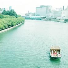 大阪を象徴する「中之島地区」を活用した、新たな観光サービス