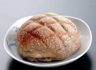 黒米メロンパン