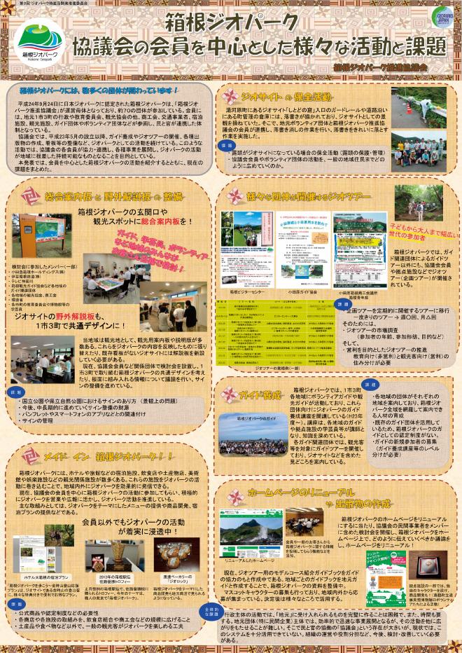 箱根ジオパーク認定に伴う 観光客向け特産品開発の調査研究事業