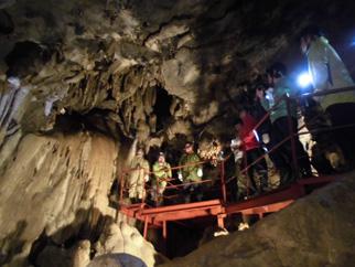 内間木洞窟を活用したヘルスツーリズム