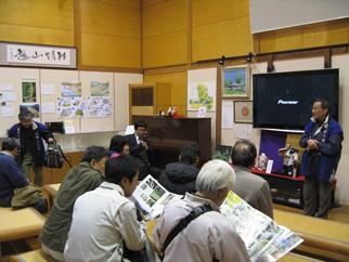 長崎街道内野宿での現状説明
