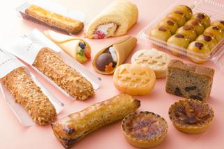 各菓子店のワンハンドスイーツ試作品