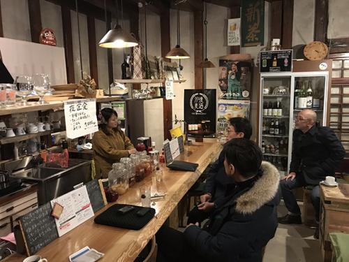 シェアリングエコノミービジネス先進事例調査風景(秋田県湯沢市)