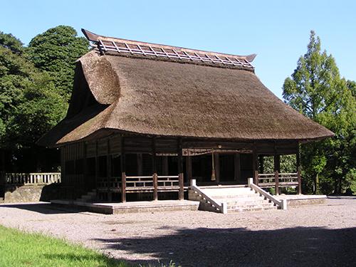 翡翠婚式会場の天津神社