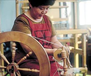 「羊毛工芸品開発事業」