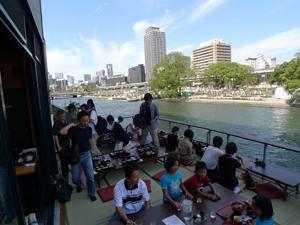 「水の都」と「食文化」の融合による観光振興